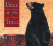 Cover art for BEAR ON THE TRAIN
