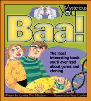 BAA! by Cynthia Pratt Nicolson