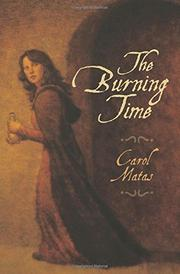 THE BURNING TIME by Carol Matas