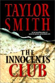 THE INNOCENTS CLUB by Taylor Smith