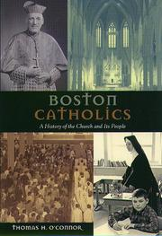 BOSTON CATHOLICS by Thomas H. O'Connor