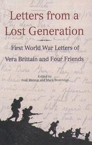 LETTERS FROM A LOST GENERATION by Vera Brittain