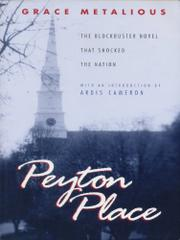 Cover art for PEYTON PLACE