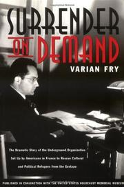 SURRENDER ON DEMAND by Varian Fry