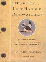 DIARY OF A LEFT-HANDED BIRDWATCHER by Leonard Nathan