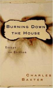 Cover art for BURNING DOWN THE HOUSE