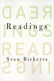 Cover art for READINGS