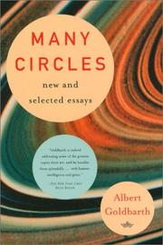 MANY CIRCLES by Albert Goldbarth