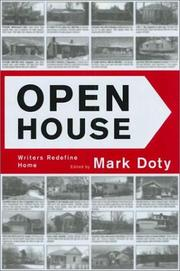 OPEN HOUSE by Mark Doty