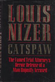 CATSPAW by Louis Nizer