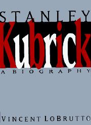Cover art for STANLEY KUBRICK