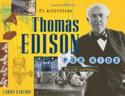 Cover art for THOMAS EDISON FOR KIDS
