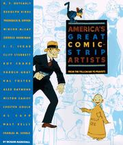 AMERICA'S GREAT COMIC-STRIP ARTISTS by Richard Marschall