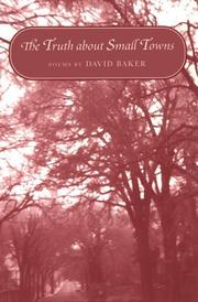 THE TRUTH ABOUT SMALL TOWNS by David Baker