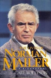 Cover art for THE LIVES OF NORMAN MAILER