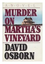 MURDER ON MARTHA'S VINEYARD by David Osborn