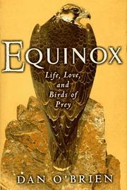 EQUINOX by Dan O'Brien