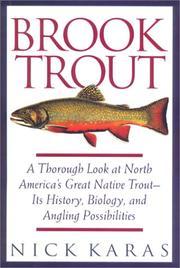 BROOK TROUT by Nick Karas