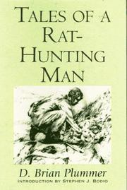 TALES OF A RAT-HUNTING MAN by D. Brian Plummer