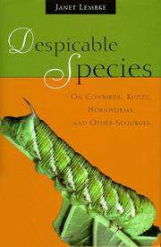 DESPICABLE SPECIES by Janet Lembke