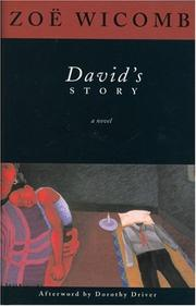 Cover art for DAVID'S STORY