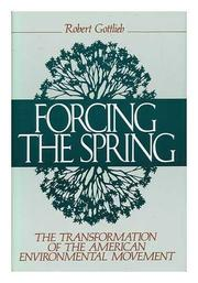 Cover art for FORCING THE SPRING