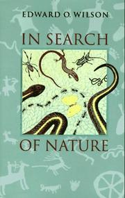 Book Cover for IN SEARCH OF NATURE
