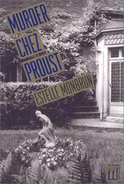 MURDER CHEZ PROUST by Estelle Monbrun