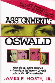 ASSIGNMENT: OSWALD by Jr. Hosty