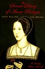 Cover art for THE SECRET DIARY OF ANNE BOLEYN