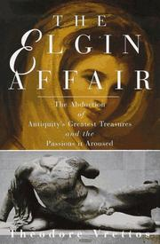 THE ELGIN AFFAIR by Theodore Vrettos