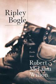 RIPLEY BOGLE by Robert McLiam Wilson