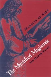 Book Cover for THE MYSTIFIED MAGISTRATE
