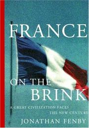 FRANCE ON THE BRINK by Jonathan Fenby