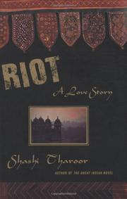 RIOT by Shashi Tharoor