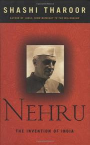 NEHRU by Shashi Tharoor