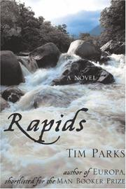 RAPIDS by Tim Parks