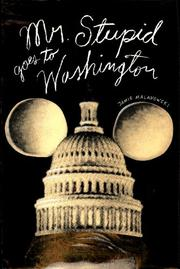 MR. STUPID GOES TO WASHINGTON by Jamie Malanowski
