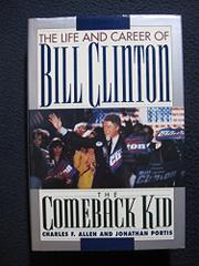 THE COMEBACK KID by Charles F. Allen
