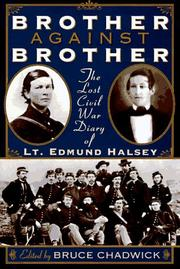BROTHER AGAINST BROTHER by Edmund Halsey