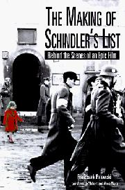 Cover art for THE MAKING OF SCHINDLER'S LIST