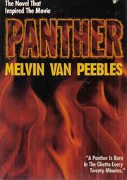 PANTHER by Melvin Van Peebles