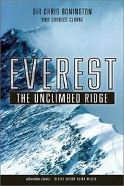 EVEREST by Chris Bonington