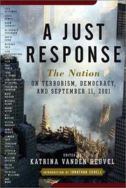 A JUST RESPONSE by Katrina vanden Heuvel