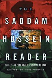 THE SADDAM HUSSEIN READER by Turi Munthe