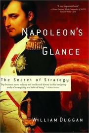 NAPOLEON'S GLANCE by William Duggan