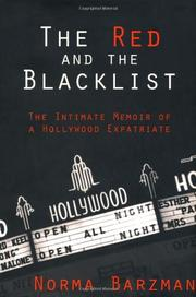 THE RED AND THE BLACKLIST by Norma Barzman
