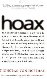 HOAX by Nicholas Von Hoffman