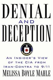 DENIAL AND DECEPTION by Melissa Boyle Mahle