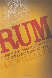 Book Cover for RUM